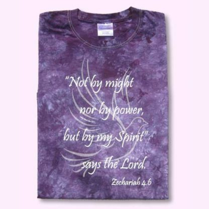 Not By Might t-shirt front